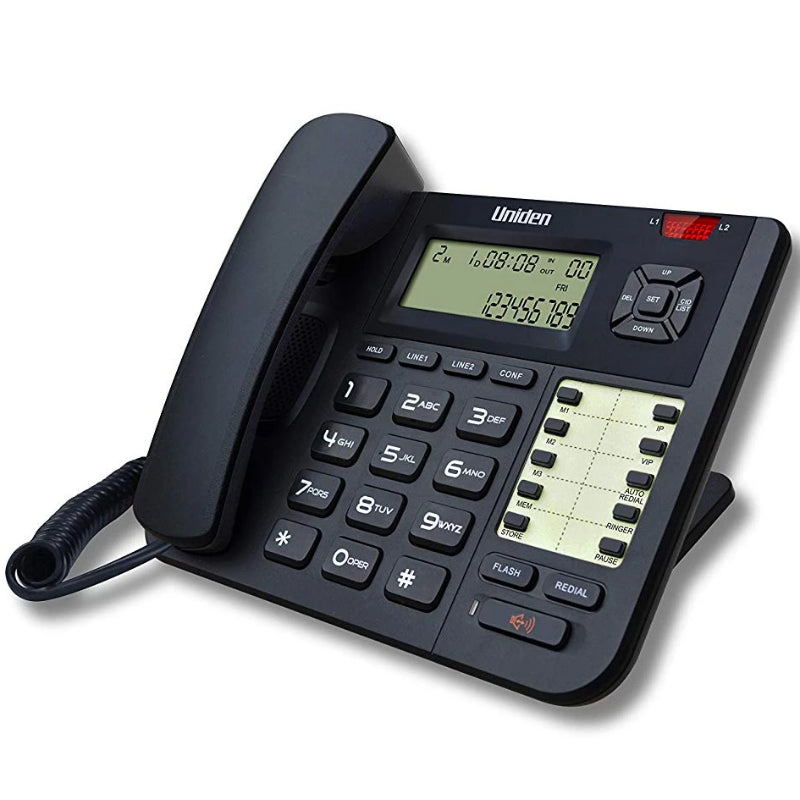 Uniden AT-8502 2 Line Corded Phone with Speakerphone