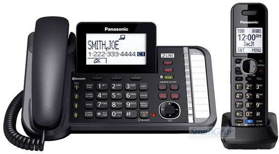 Panasonic KX-TG9581 2 -Line Corded/Cordless,Link2Cell with 1 Cordless Handset