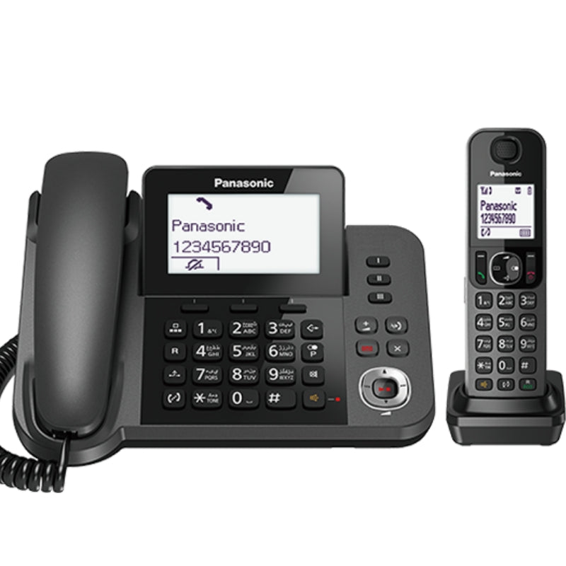 Panasonic KX-TGF320 Digital Corded & Cordless Answering System