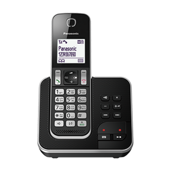 Panasonic KX-TGD320BXB Digital Codless With Answering Machine