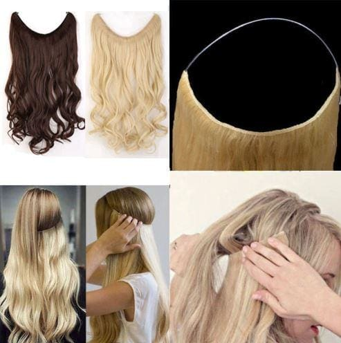 INVISIBLE CROWN HAIR EXTENSIONS