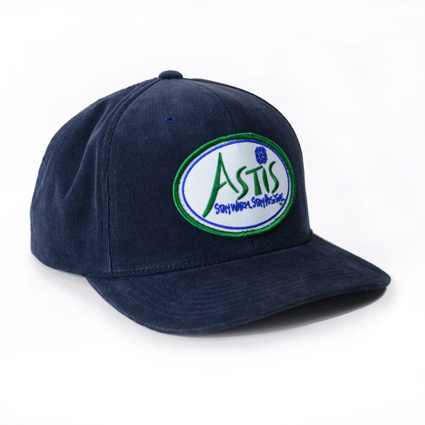 Astis Micro-Corduroy Patch Hat