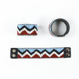 Finke - Leather Beaded Bracelet