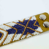 Nile - Leather Beaded Bracelet