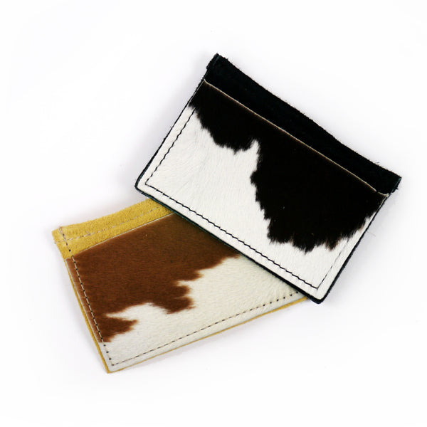 Hair-On-Hide Leather Wallet