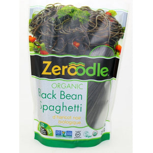 (Case of 6) Zeroodle - Organic Black Bean Pasta - Spaghetti - 7oz/200g
