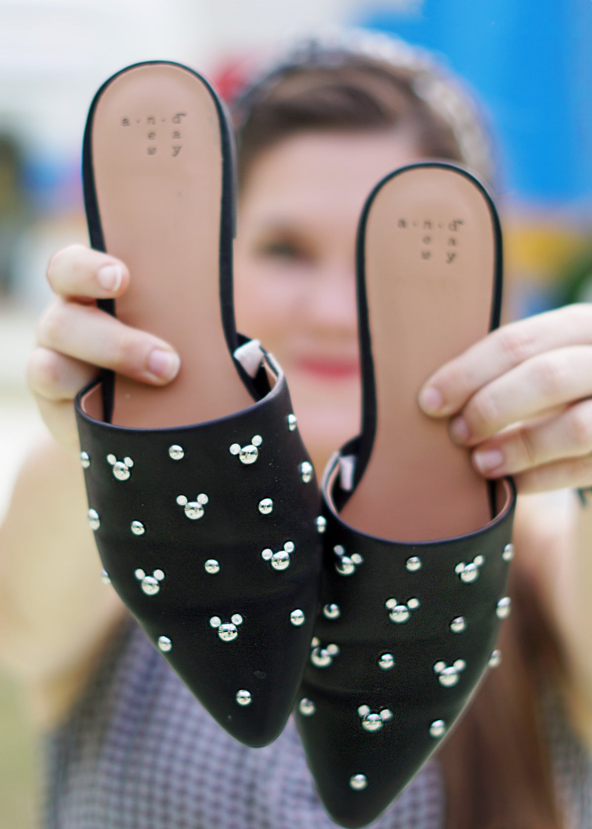 DIY Mickey Mouse Mules