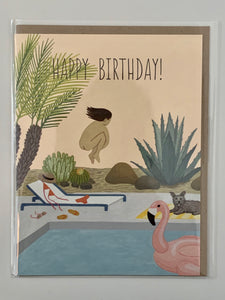 Happy Birthday! Birthday Suit Card