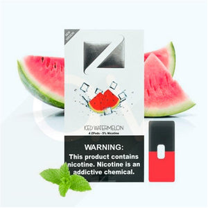 ZIIP Pods for JUL Devices (ICED WATERMELON flavor) - 50MG