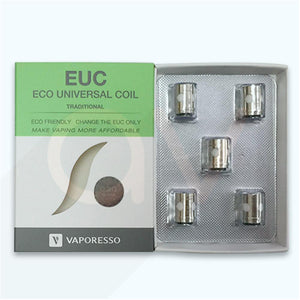 Vaperesso EUC Coils  (For Tarot Nano and Aurora Mod) - Sold PER COIL OR PER PACK