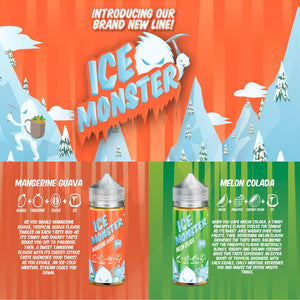 Mangerine Guava - Ice Monster E Liquid 100ML
