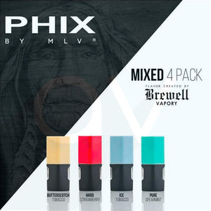 MLV Phix Cartridge Mixed (Pack of 4)