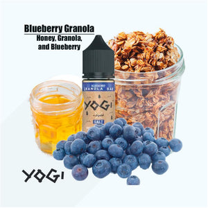 Yogi Nic Salt Blueberry Granola Bar 30mL
