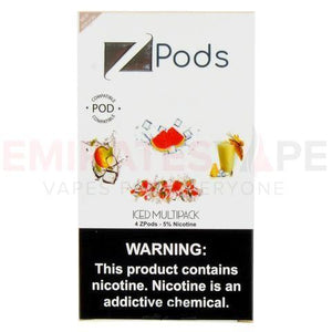 ZIIP Pods (Iced mixed flavors ) - 50MG