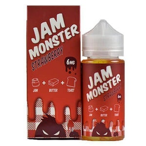 Jam Monster eJuice - Strawberry - 100ml