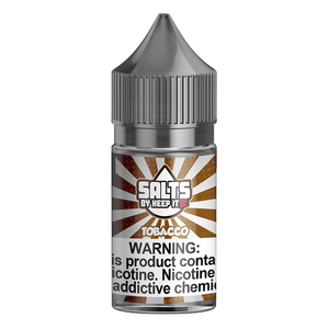 Liquid Labs - Keep It 100 E Liquid - Tobacco - 30ml