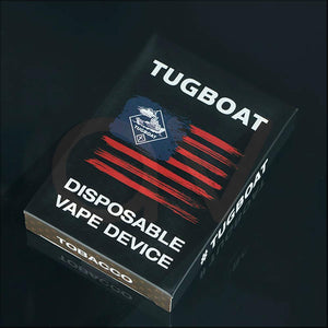 TUG BOAT VAPE Sprite Ultra Portable and Disposable Vape Device