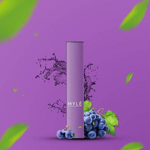 MYLE DISPOSABLE GRAPE - 3 PCS IN EACH PACK!