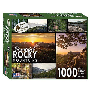 Frank Ruggles' Beautiful Rocky Mountain Signature Collection Puzzle LIBERTY MT SPORTS