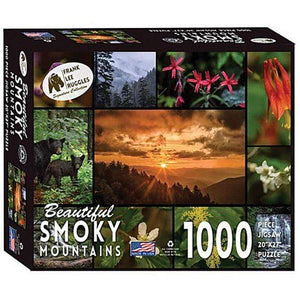 Frank Ruggles' Beautiful Smoky Mountains Signature Collection Puzzle LIBERTY MT SPORTS