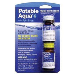 Liberty Mountain Potable Aqua Plus Tablets LIBERTY MT SPORTS