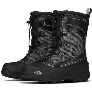 The North Face Black / 10 The North Face Kids' Alpenglow IV Waterproof Boots The North Face Alpenglow IV Waterproof Kid's Boot NORTH FACE