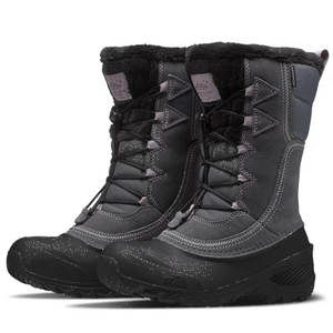 Zinc Grey / 10 The North Face Kids' Shellista Lace IV Boots NORTH FACE