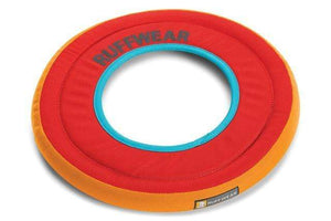 Sockeye Red Ruffwear Hydro Plane Floating Throw Toy Ruffwear