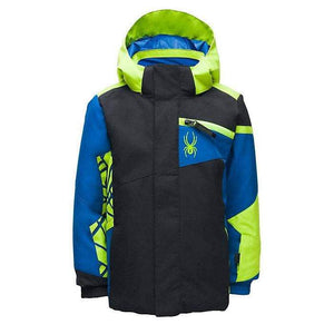 Black / 7 Spyder Boys' Mini Challenger Jacket SPYDER ACTIVE SPORTS INC