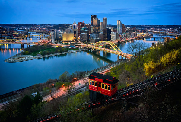 Top Attractions at Pittsburgh, Golden Triangle at Pittsburgh