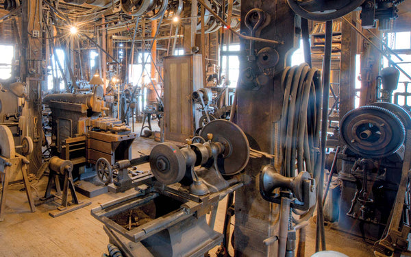 Exciting Things at Pittsburgh, Machines inside a Steel Mill