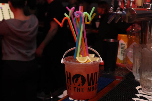 Bucket drinks in Howl At The Moon Club