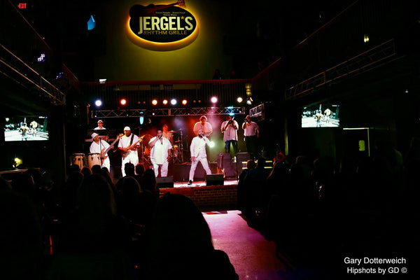 Band performance at Jergel's