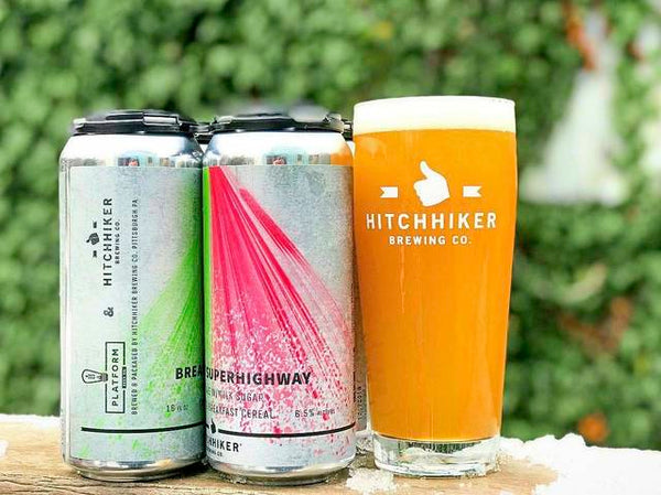 Drinks from Hitchhiker Brewing Co.