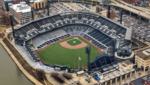Aerial View of PNC Park at Pittsburgh