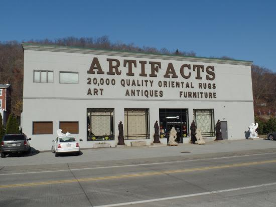 Artifacts shop from outside
