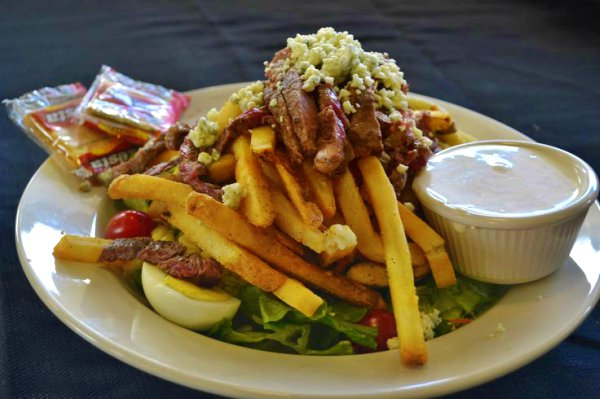 Fries-loaded Salad In Pittsburgh