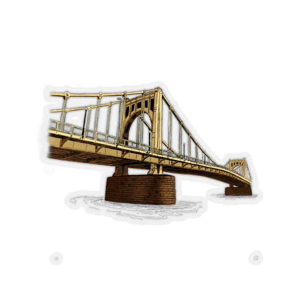 Roberto Clemente Bridge | Kiss-Cut Stickers