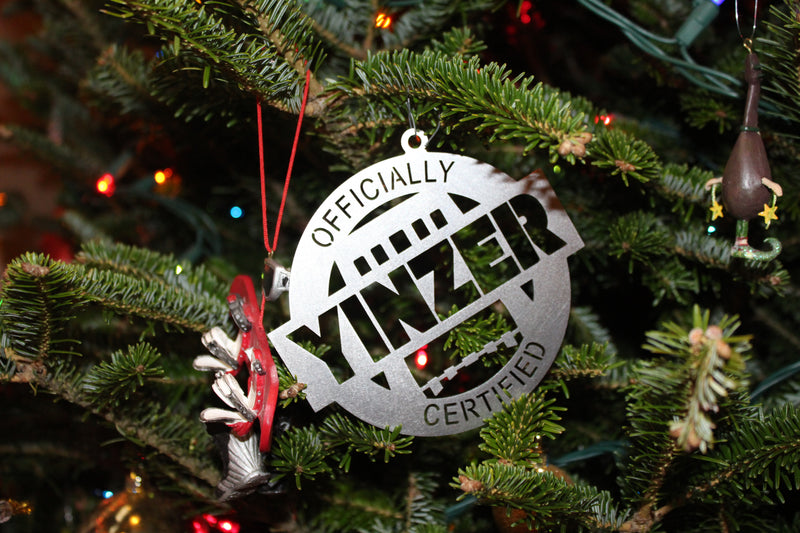 Yinzer Christmas Tree Ornament