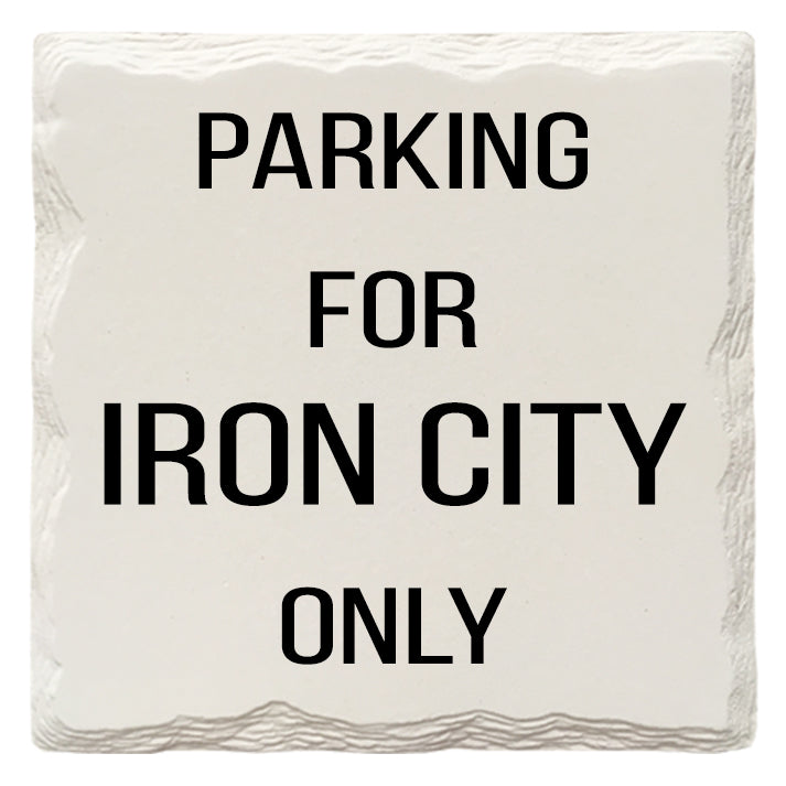 Iron City Only | Drink Coasters
