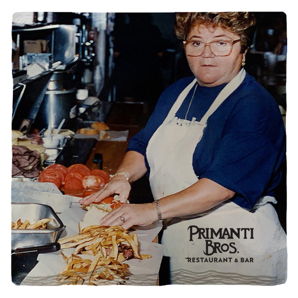 Primanti's Famous Toni Haggerty | Drink Coasters