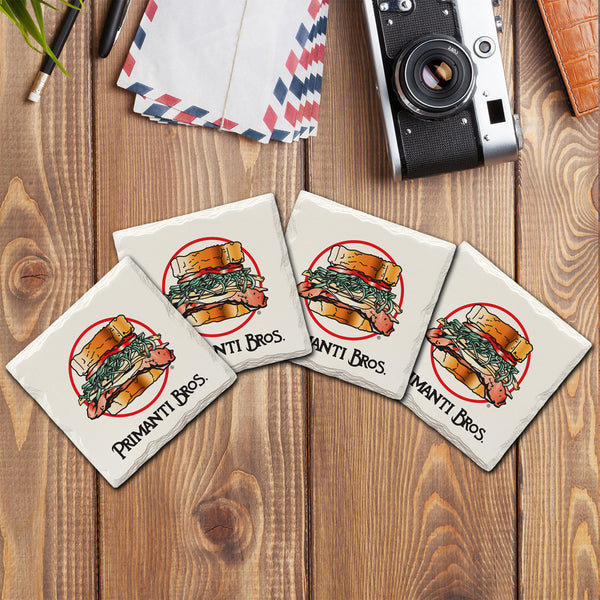 Primanti Bros. Sandwich Logo | Drink Coasters