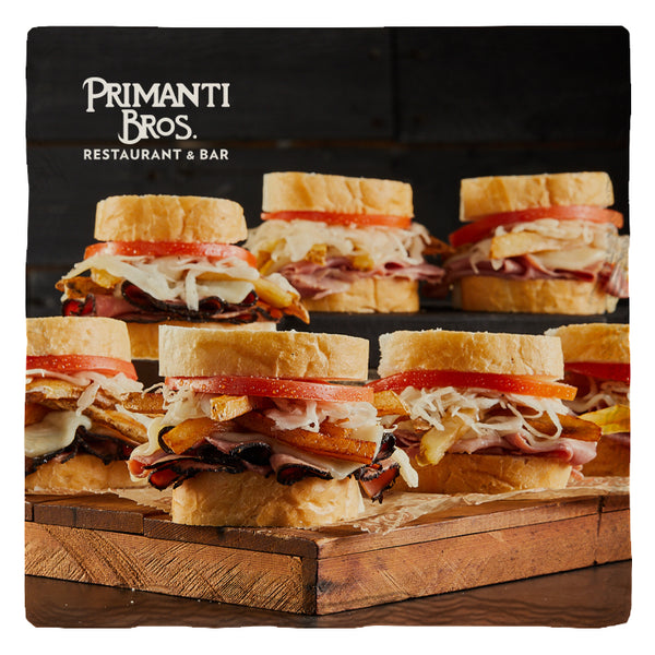 Primanti Bros. | Sandwich Mountain | Drink Coasters