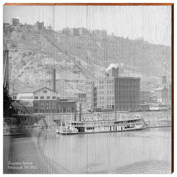Duquesne Incline, 1900-YINZERshop.com