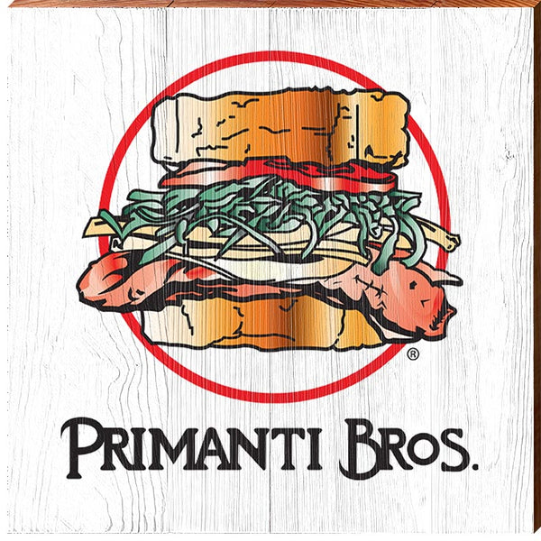 Primanti Bros. | Sandwich Logo | Real Wood Sign
