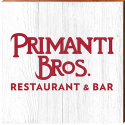 Primanti Bros. | Red Logo | Real Wood Sign