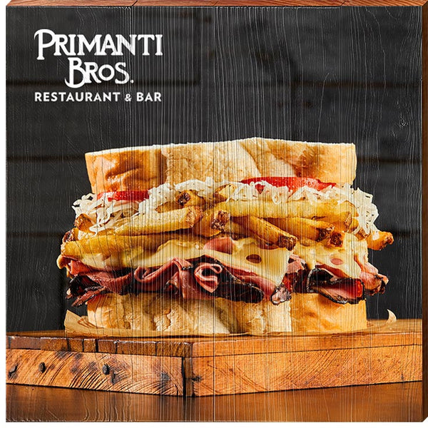 Primanti Bros. | Sandwich | Real Wood Sign