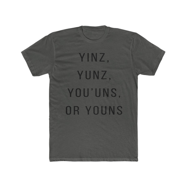 Pittsburgh Versions of YINZ T-Shirt