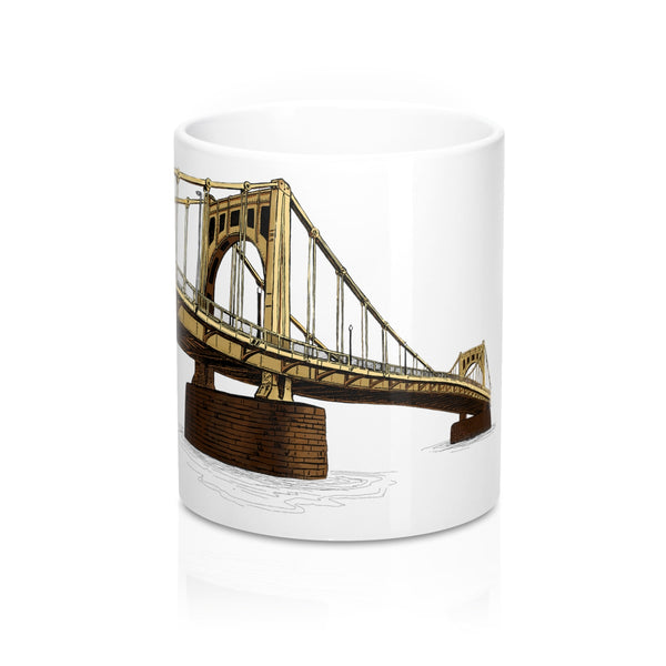 Roberto Clemente Bridge, Pittsburgh | Coffee Mug 11oz