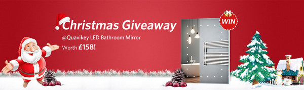Quavikey LED Bathroom Mirror Competition – 2018 CHRISTMAS GIVEAWAY